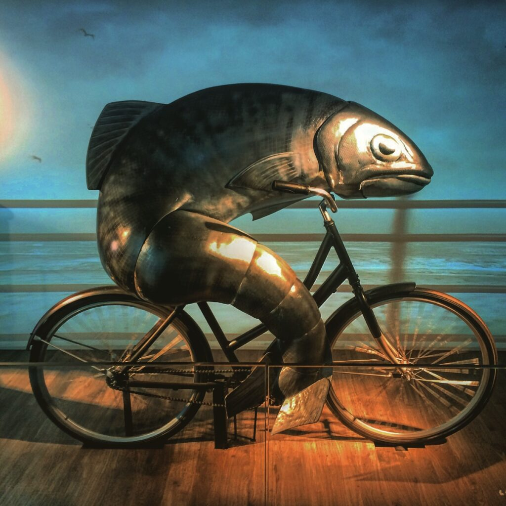 pesce pubblicitario
