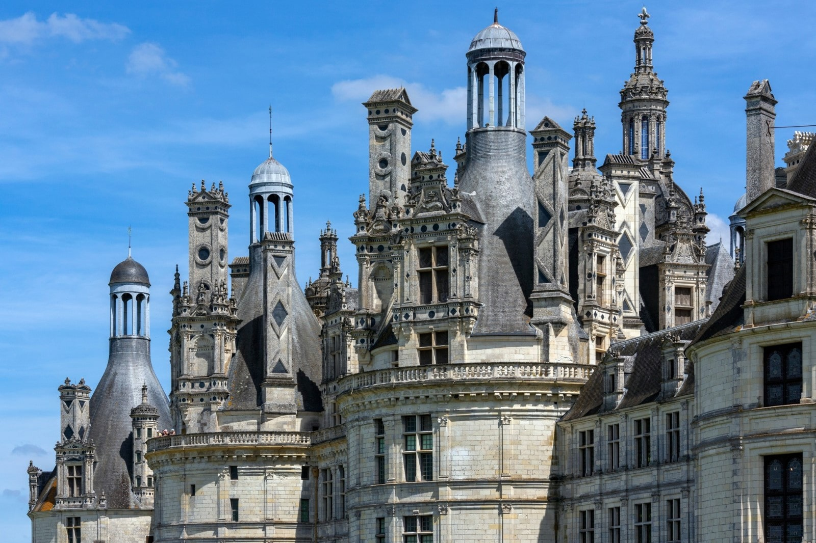 tetti del castello