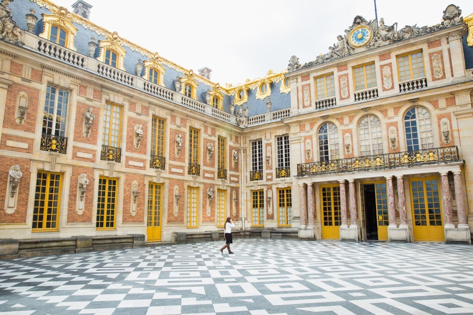 cortile di Versailles