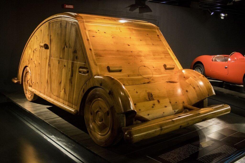 prototipo in legno