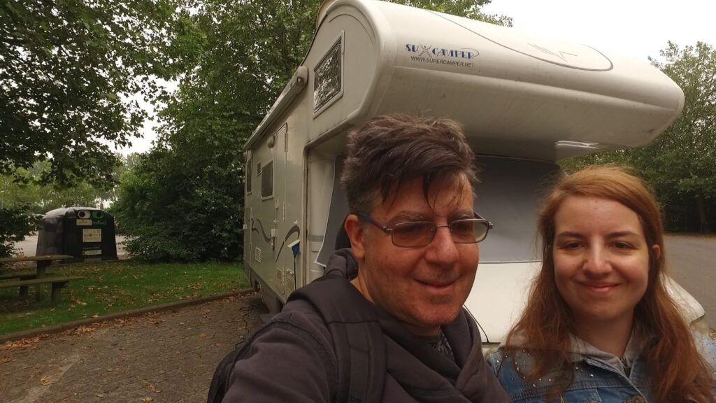 Bruges in camper