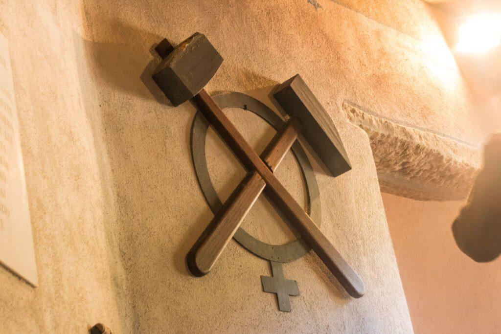 Il simbolo della miniera