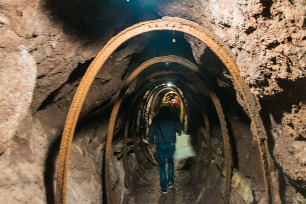 La galleria della miniera