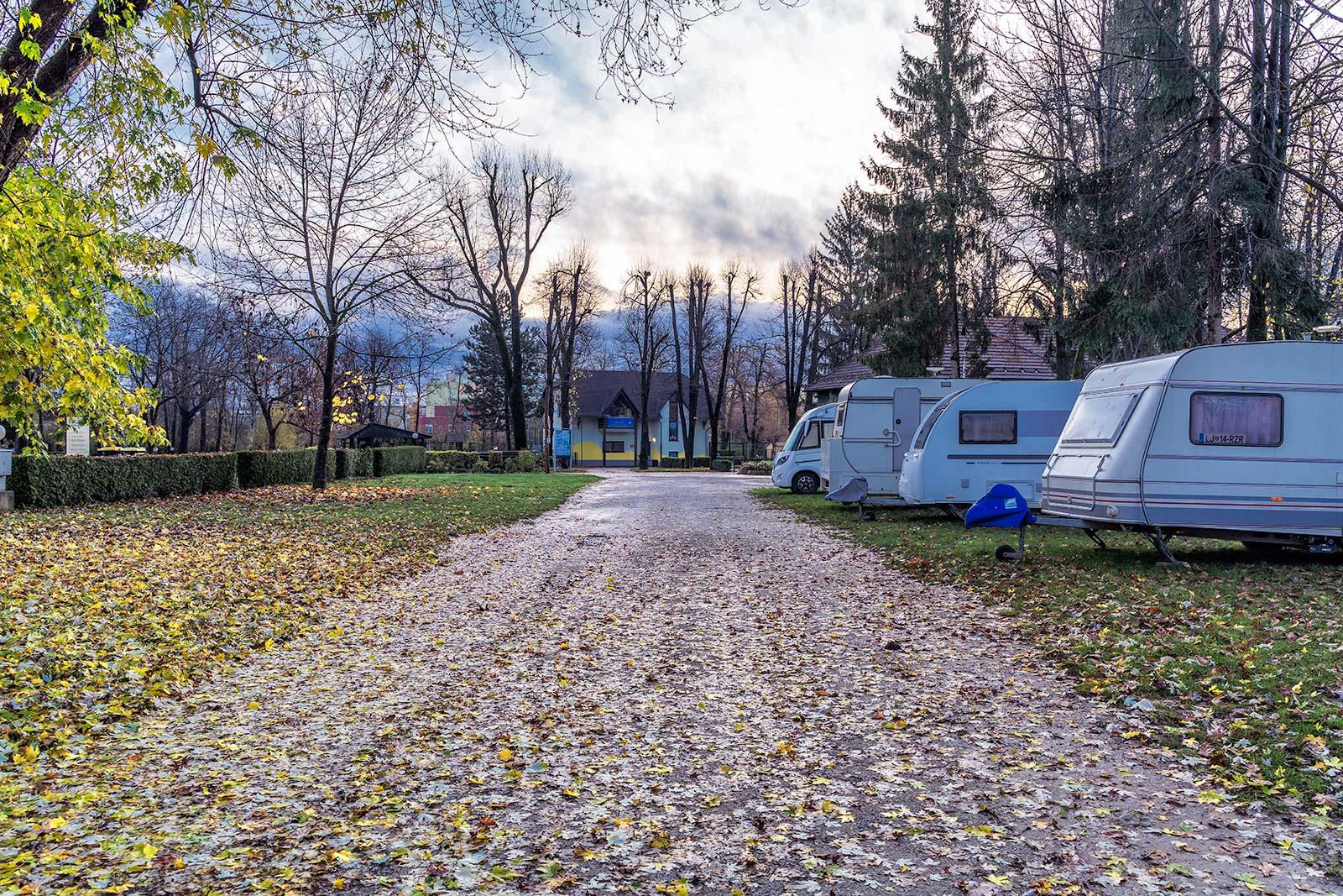 campeggio a Lubiana