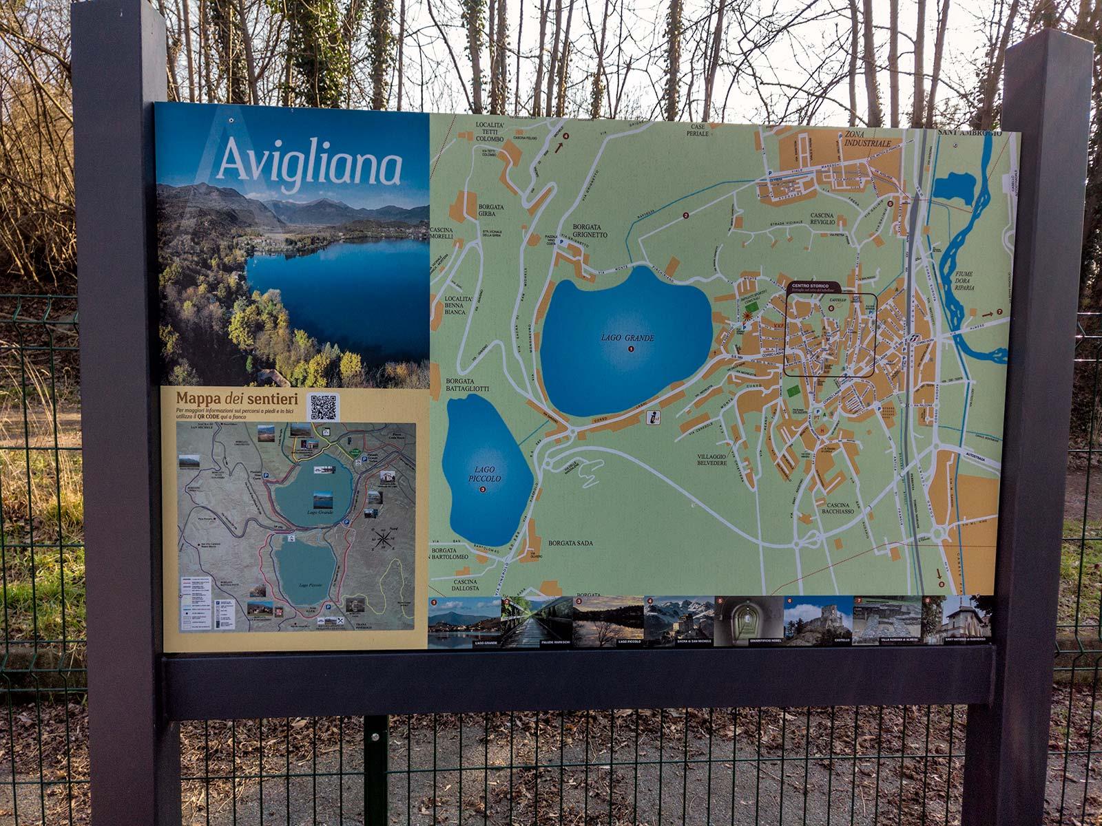 Mappa della Zona