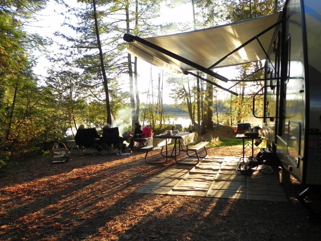 Sistemati in Campeggio