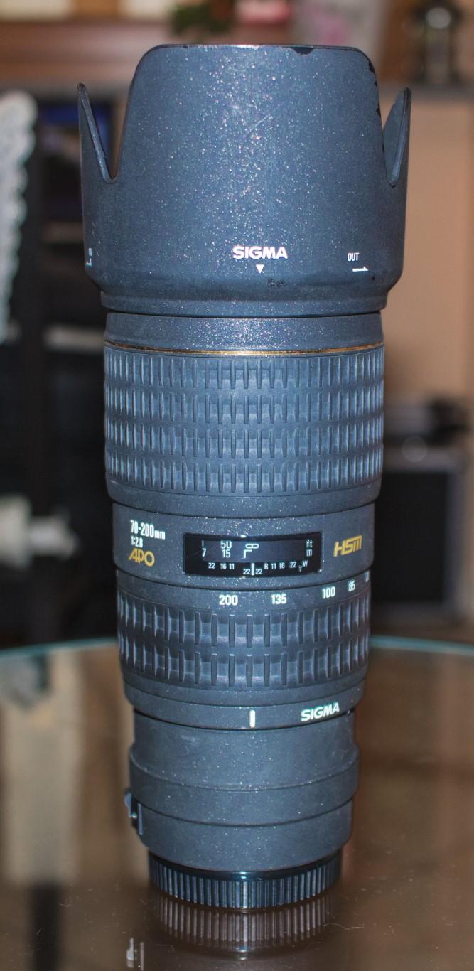 Sigma 70-200mm f 2.8