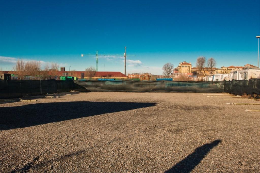 Area sosta new park
