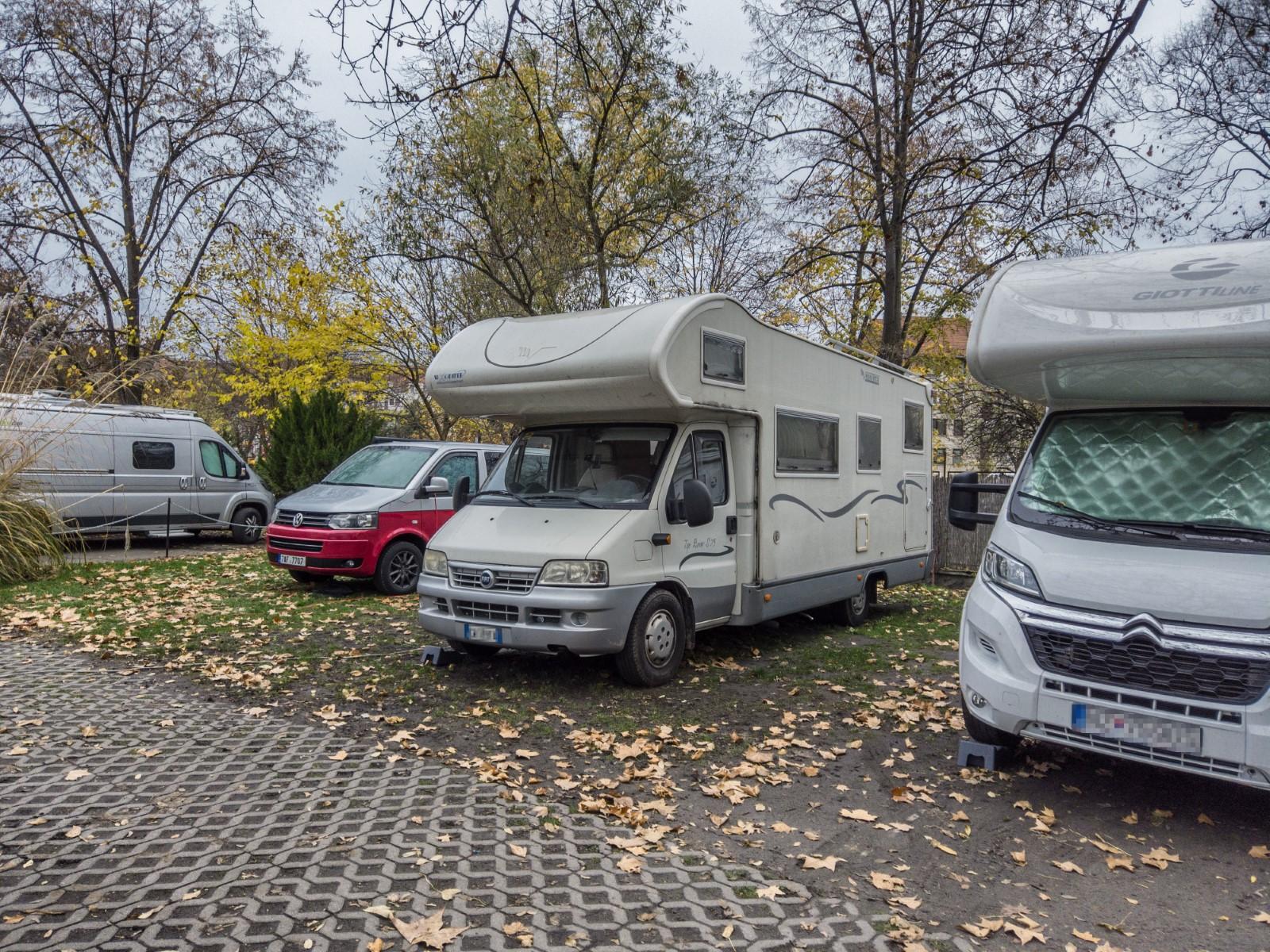 campeggio a Budapest