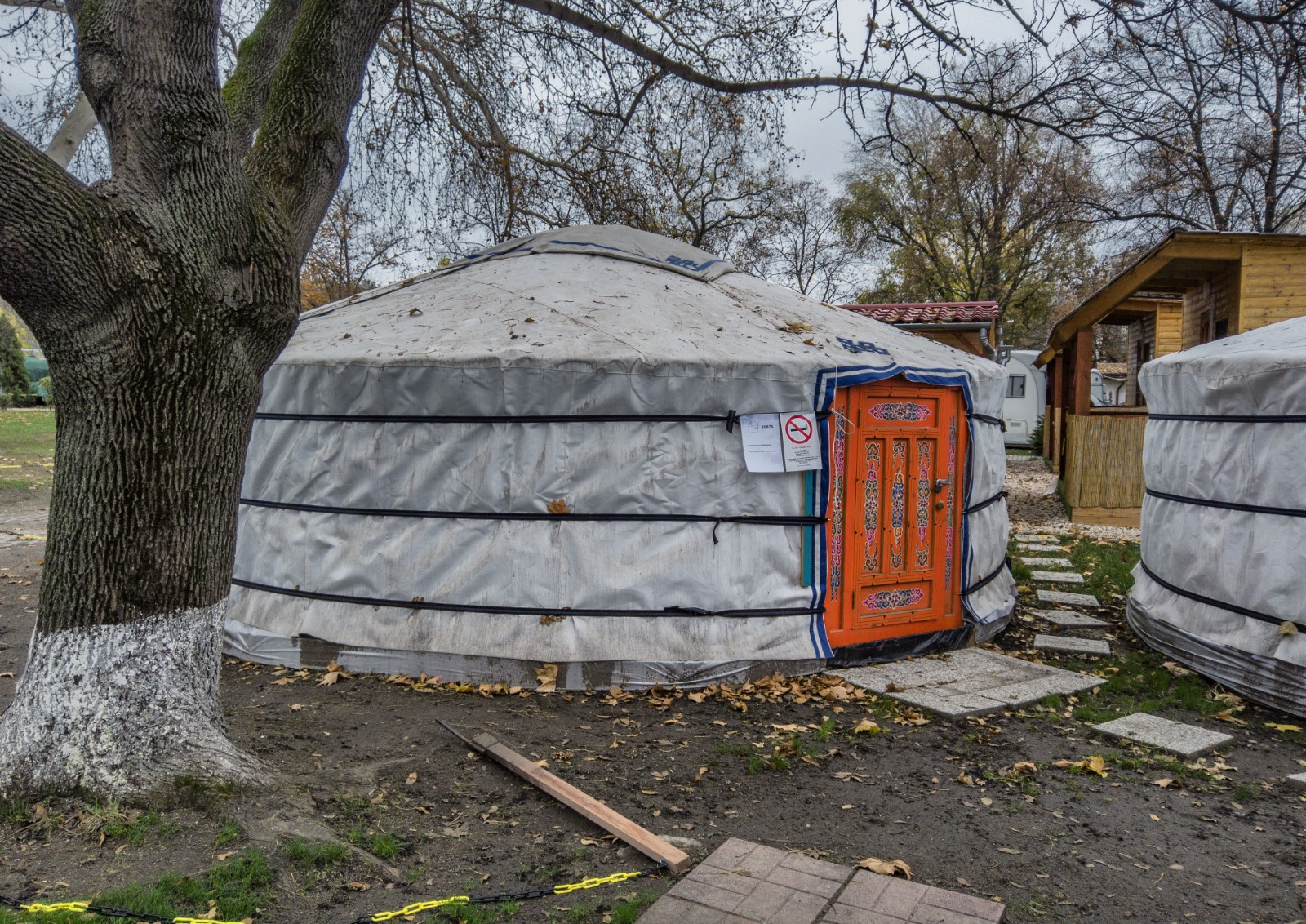 Camping a Budapest - le yurta