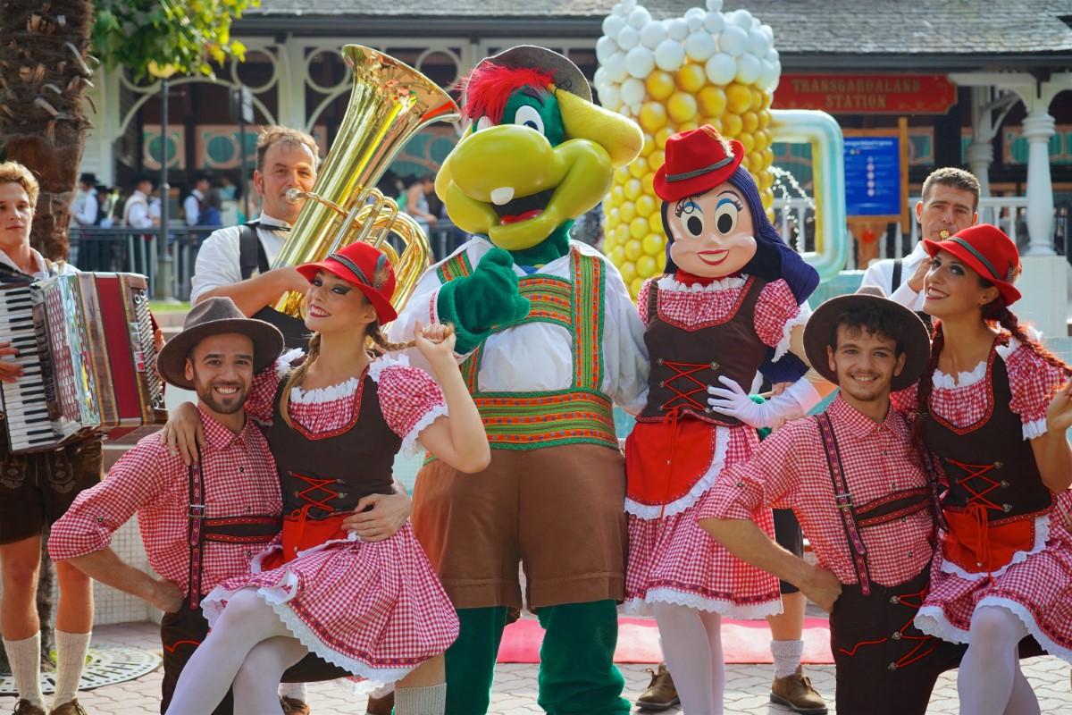 mascotte gardaland oktoberfest