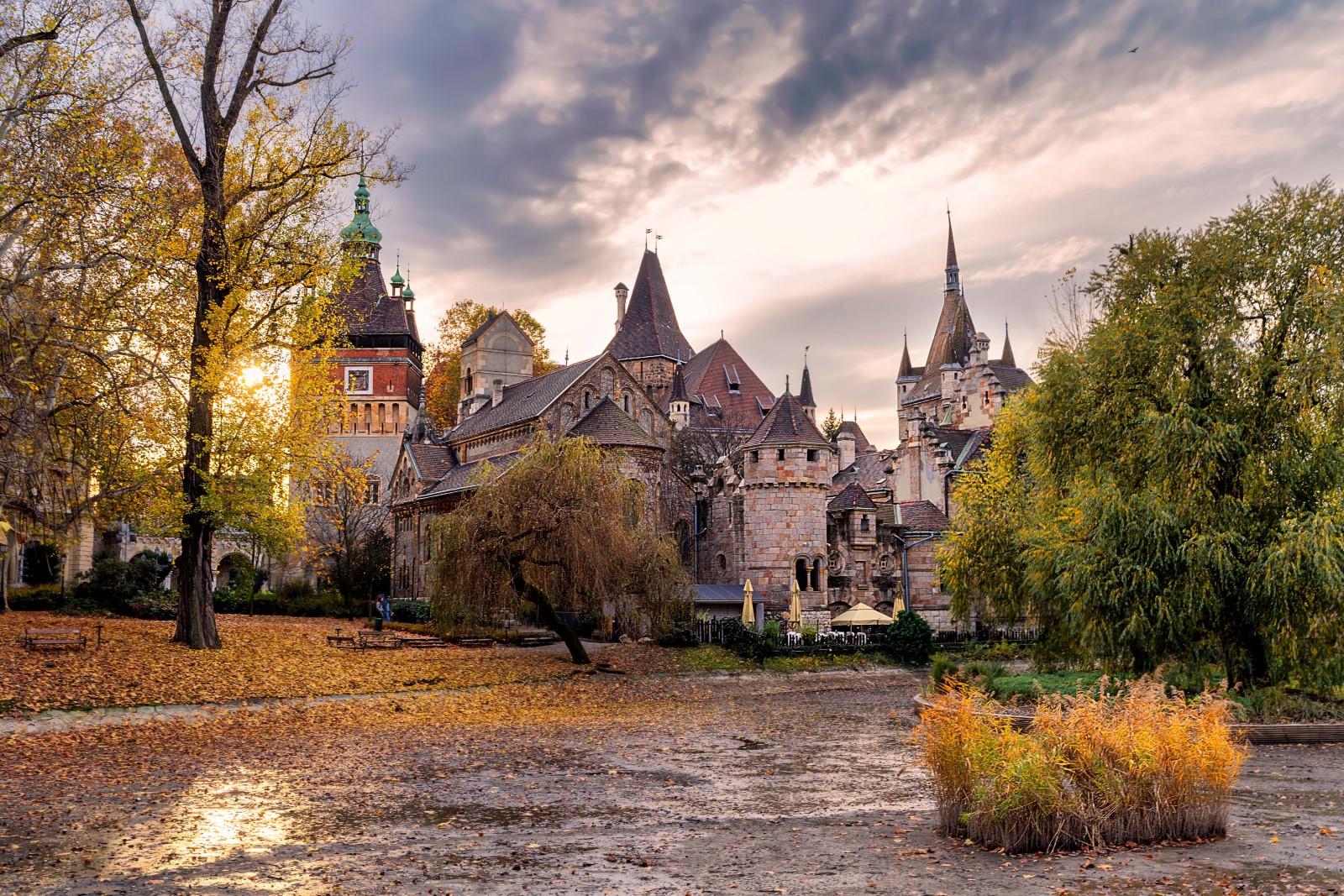 Il castello Vajdahunyad di Budapest