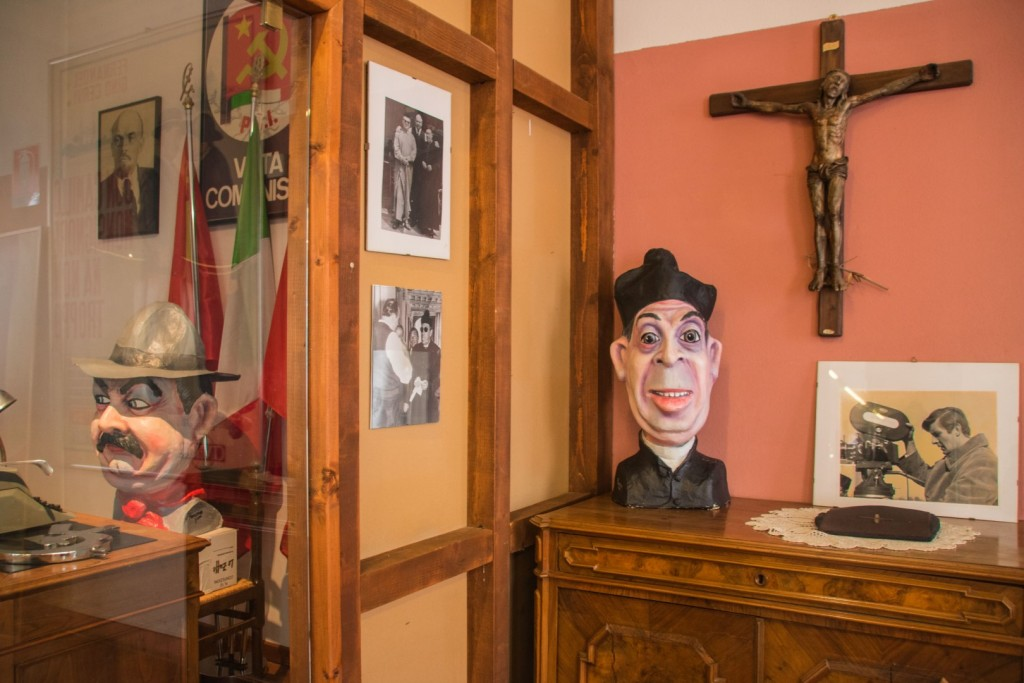 Il museo di Don Camillo e Peppone