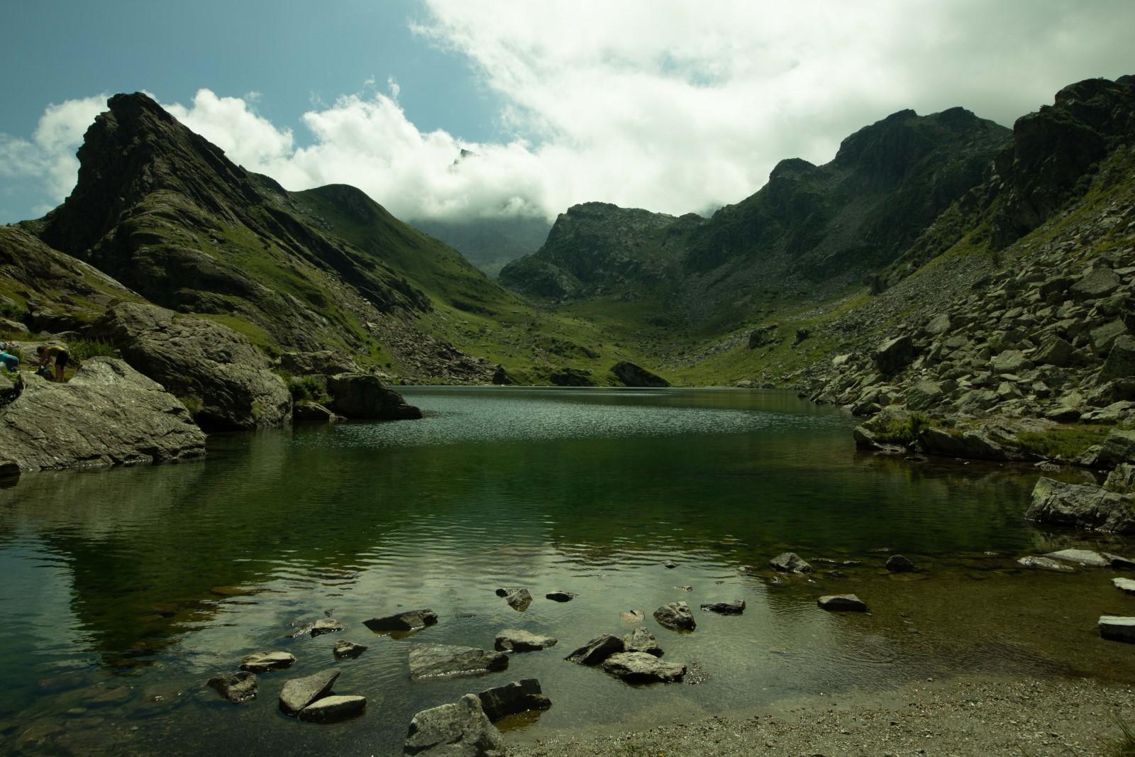 Foto del lago Fiorenza non elaborata