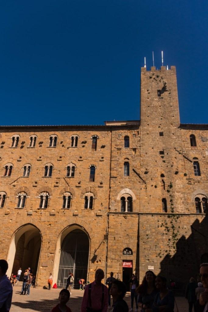 Piazza principale di Volterra