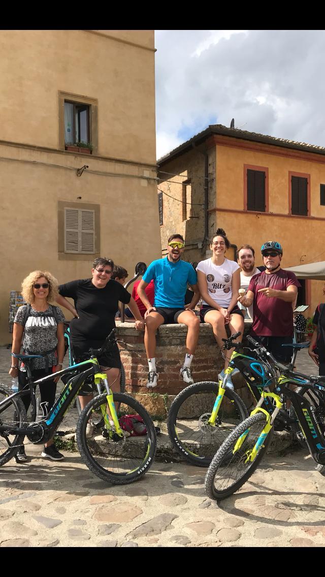 Fabio in bici