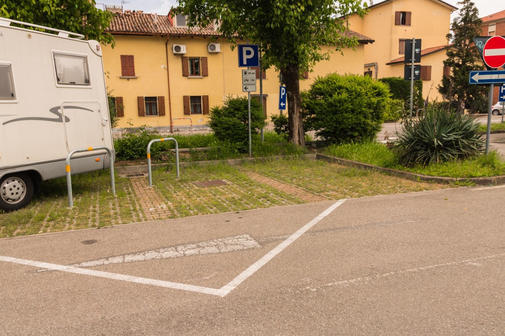 camper Reggio Emilia piazzola