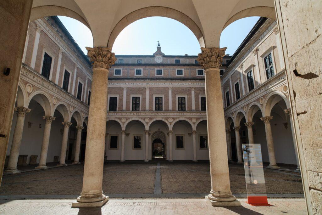 Cortile palazzo ducale