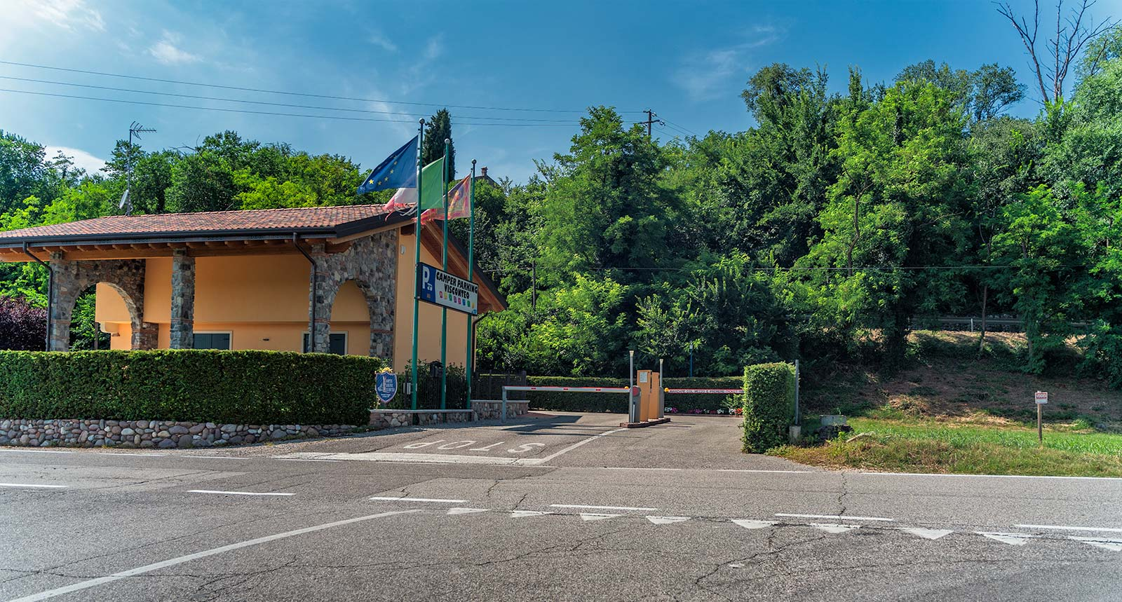 Area Sosta Borghetto sul Mincio
