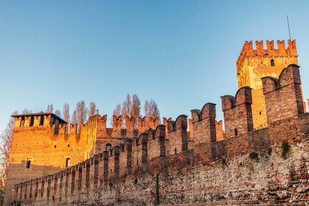 mura del ponte di castelvecchio