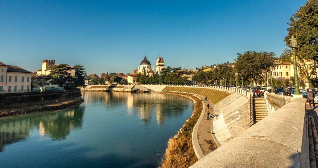 Veronetta e l'Adige