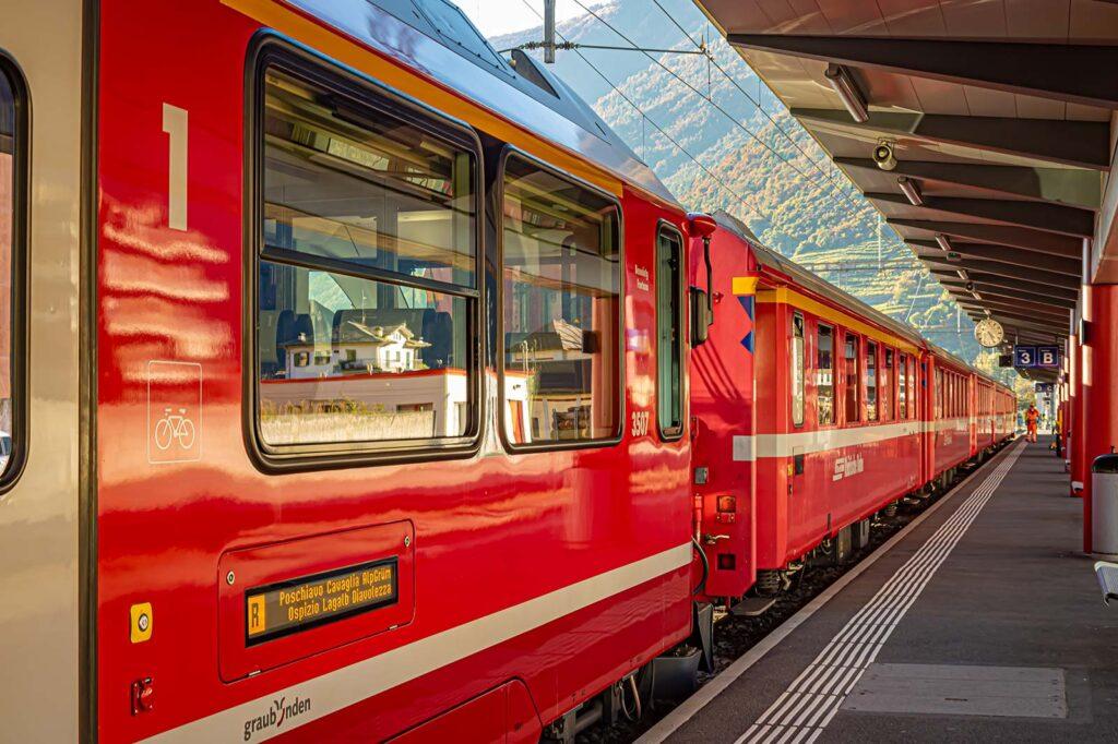 treno pronto a partire