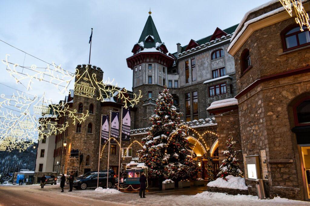 Natale a saint Moritz