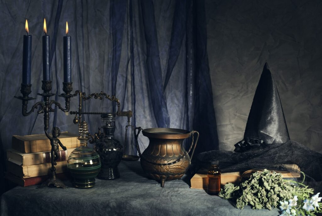 accessori strega