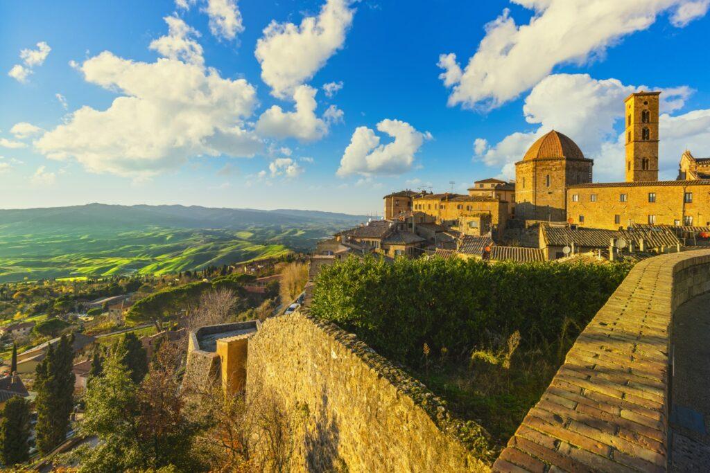 panorama da Volterra