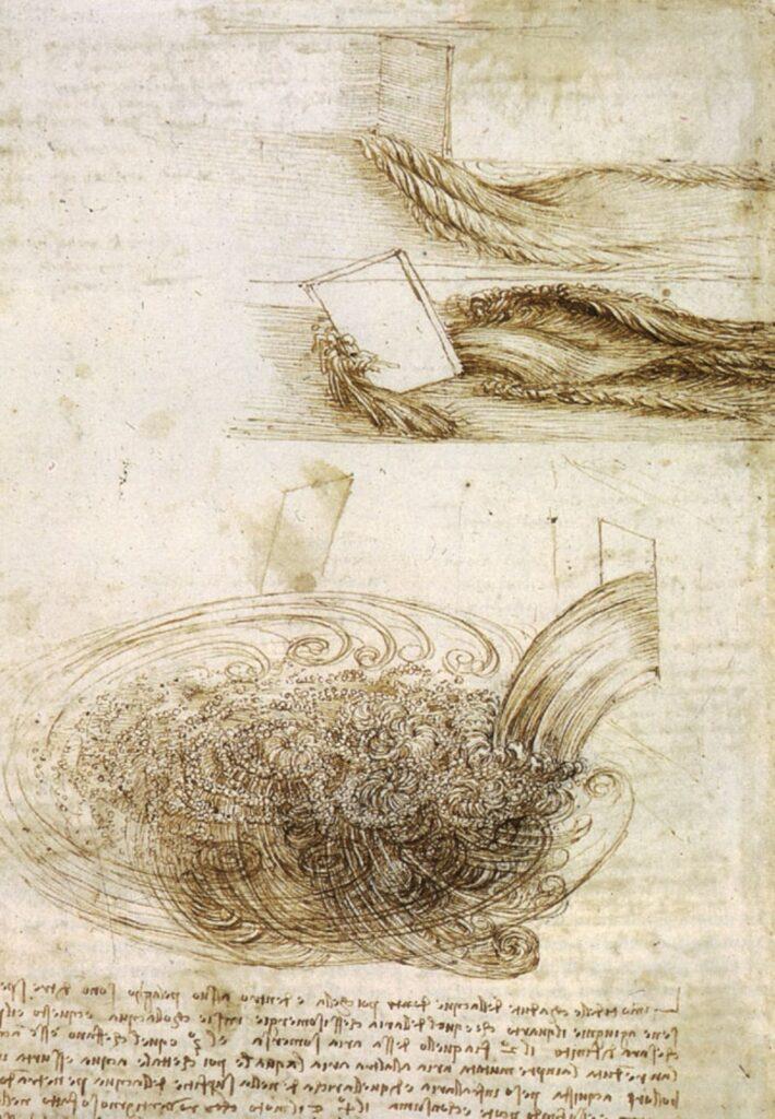 studi idraulici di Leonardo